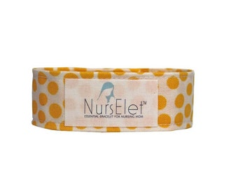 Nursing Shirt Holder-Nursing Bracelet-Hands Free Nursing Shirt Clip-Nursing Reminder Clip-Reminder Bracelet-Breastfeeding Accessory-NursElet