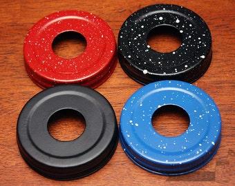 4 Colors! Soap Pump Lid Adapters for Regular Mouth Mason Jars