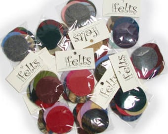 Large Disk 12 Pack Assortment  - ADORNMENT FLAT GOODS