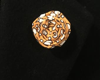 Flower Lapel Pin (Bubble)