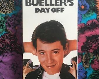 Ferris Bueller's Day Off VHS
