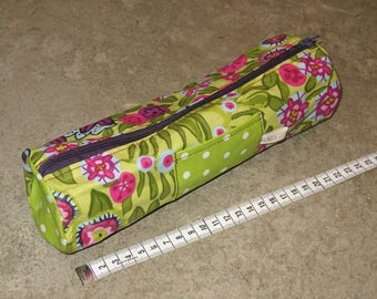 small flower cotton coats pencil Kit front averte striped Pocket