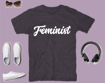 Feminist Shirt: Crew Neck Bella & Canvas T-Shirt, Go Get Your Almost Equal Pay, Feminist AF, Feminist Tee, Feminist T Shirt