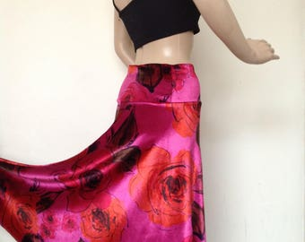 Argentine tango skirt in small-medium size