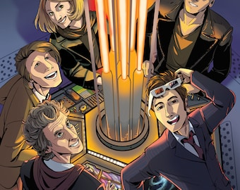 Modern Doctors in the TARDIS