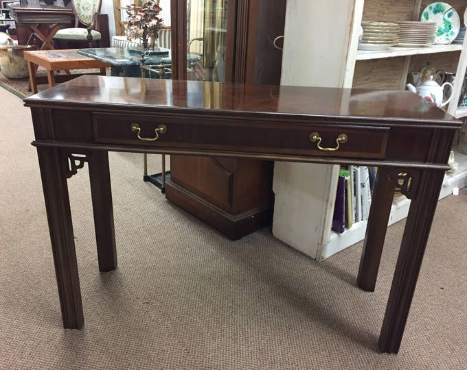 Vintage Mahogany Chinese Style Hall Table