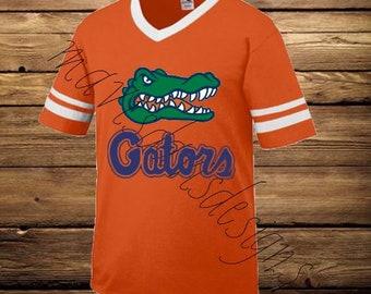 FLORIDA GATORS Orange JERSEY Style Shirt
