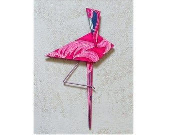 Flamenco, Flamingo, exotic flora and fauna handicrafts for home decor or a special gift