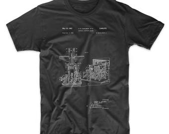 Missile Launching System patent 1961 T Shirt, PP0959