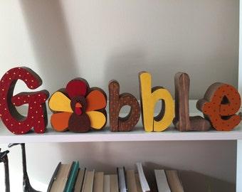 Gobble Letter Set