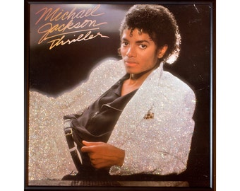 Glittered Michael Jackson Thriller Album