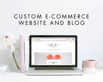 Custom WordPress eCommerce Online Responsive Store and Blog - WooCommerce Storefront - Custom Web Design, Website, Online Store, Online Shop