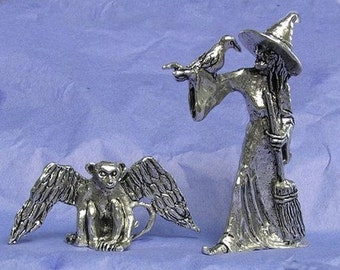 Wicked Witch and Winged Monkey From Wizard of Oz Series