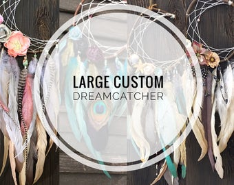 LARGE custom dreamcatcher