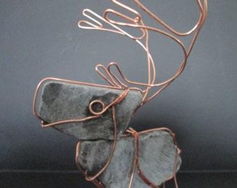 Rock Reindeer Rudolph