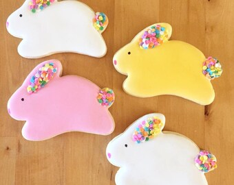 Royal icing Bunny cookies