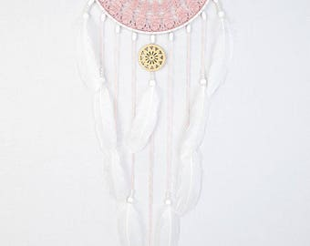 New design of Pink Dream Catcher Crochet Doily Dreamcatcher pink ash large dreamcatcher boho dreamcatchers wedding decor wall hanging