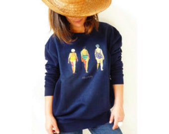 """Sweatshirt """"FOR EVER YOUNG"""""""