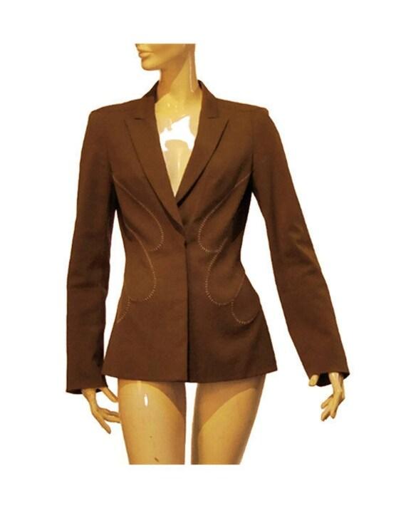 Veste kaki femme vintage