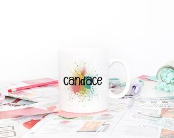 Personalized Coffee Mug for Her, Coffee Mug for Friend, Gift for Coworker, Gift for Her, Gift for Boss, Personalized Gift, Coffee Cup
