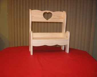 edge cherry wooden wild coffee etsy childs wormy natural bench market il hobbit table finished live