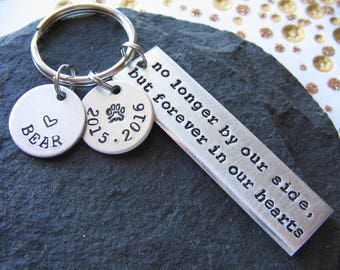 Pet Keychain - Pet Memorial Keychain - Custom Pet Keychain - Personalized Keychain - Dog Loss Keychain - Pet Loss Keychain - Pet Keychain