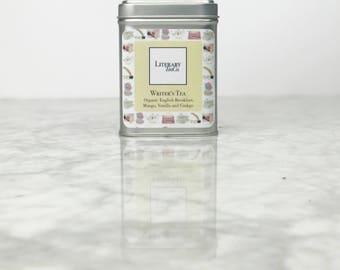 Writer's Tea - Loose Leaf Tea.. The perfect Literary gift, Mothers Day Gift for Tea Lover, Book Lover or Bibliophile! English Breakfast