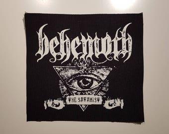 Behemoth The Satanist #1 patch black metal
