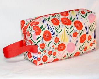 Field of Poppies Project Bag - Organic Fabric