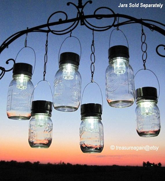 Solar Hanging Lights Outdoor Outdoor event lighting mason jar solar lights wedding lights workwithnaturefo