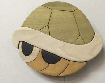 Wooden Super Mario Koopa Shell