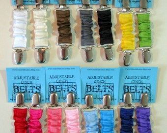 Cinch FULL SET - 22 PCS -  Cinch Belt - Dress Clip - Toddler Belt - Bulk Wholesale