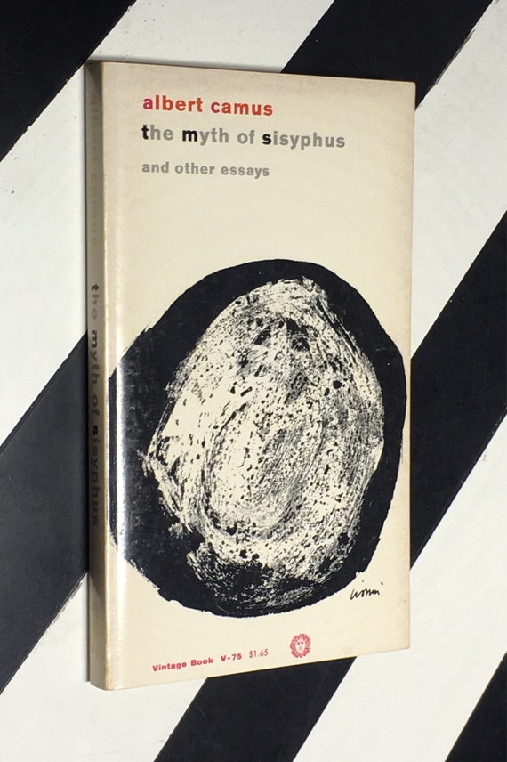 The Myth of Sisyphus and Other Essays by Albert Camus; Translated from the French by Justin O'Brien (1955) softcover book