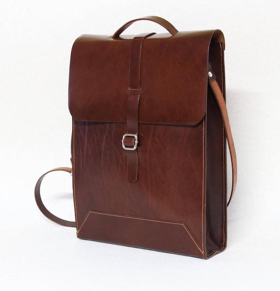 Mens Bag - Mens business bag Ludena - computer bag - leather messenger-handmade man briefcase - Leather Shoulder Bag
