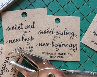 Rustic Wedding Favor Tags, Rustic Kraft Paper Tie-On Tags, Rustic Square Favor Tags, Wedding Favour Tie-On Tags, Country Chic Wedding Decor