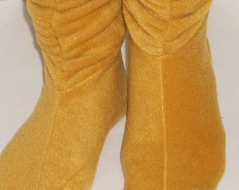 Slouchy Fleece Slipper Socks pdf Sewing Pattern
