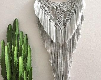Macrame wall hanging, wall hanging, wall art, macrame, macrame decor, home decor, fiber art, tapestries, weaving, woven wall hanging
