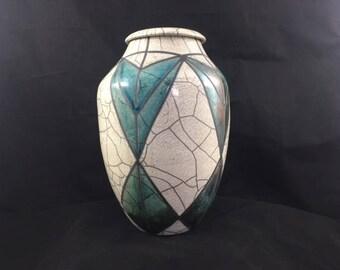 Tiffany inspired cremation urn