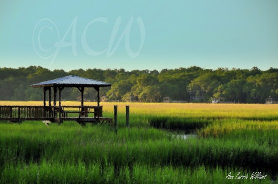 A Pier on  Edisto Island, South Carolina