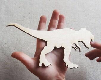 T-Rex Plywood Cutout, Wooden Dinosaur,  T-Rex Art, Dinosaur Party, Dinosaur Decor, T-Rex Shape, Dinosaur Shape, T-Rex Dinosaur, T-Rex Style