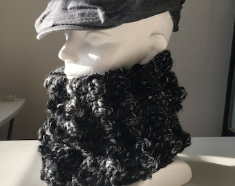 Men's Thick Wool Cowl
