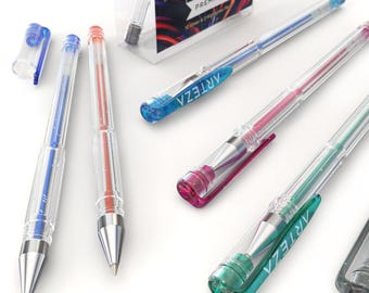 Arteza Glitter Gel Ink Pens (Set of 14)