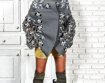 Winter Coat, Womens Cardigan Jacket, Oversized Cardigan, Boho Cardigan, Winter Cardigan, Avant Garde Coat, Futuristic Clothing, Warm Coat