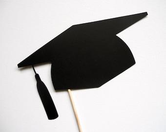 Graduation Hat Photo Booth Prop . Graduation Photo Booth Prop . Graduation . 2014 . Class of 2014 . Single