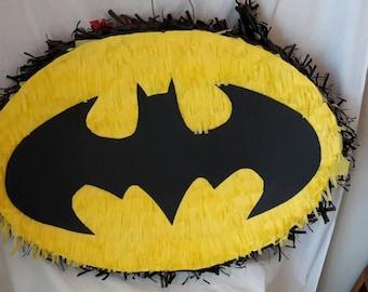 Large Superheroes. Batman. Spiderman inspired piñata. Made to order. New