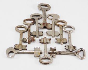 Original gift wedding keys brass keys Authentic key vintage keys large skeleton keys rustic key for crafting steampunk jewelry findings diy