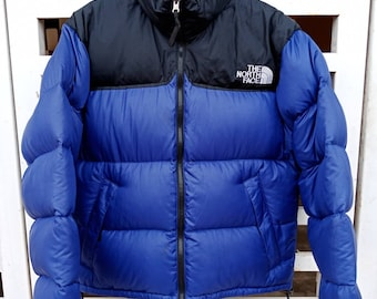 Rare!! Reversible The North Face Puffer Goose Down Light Jacket