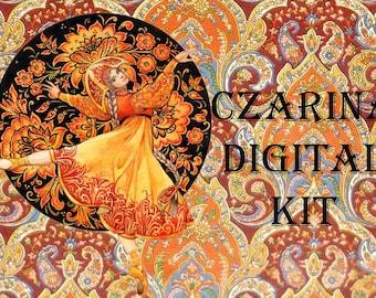 Czarina Digital Craft Kit