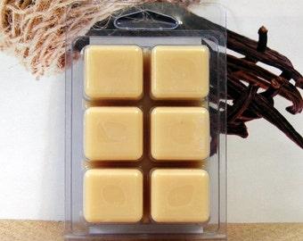 Vanilla Bean  Breakaway Clamshell Soy Wax Tart Melts