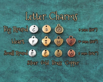 Add a Letter Charm